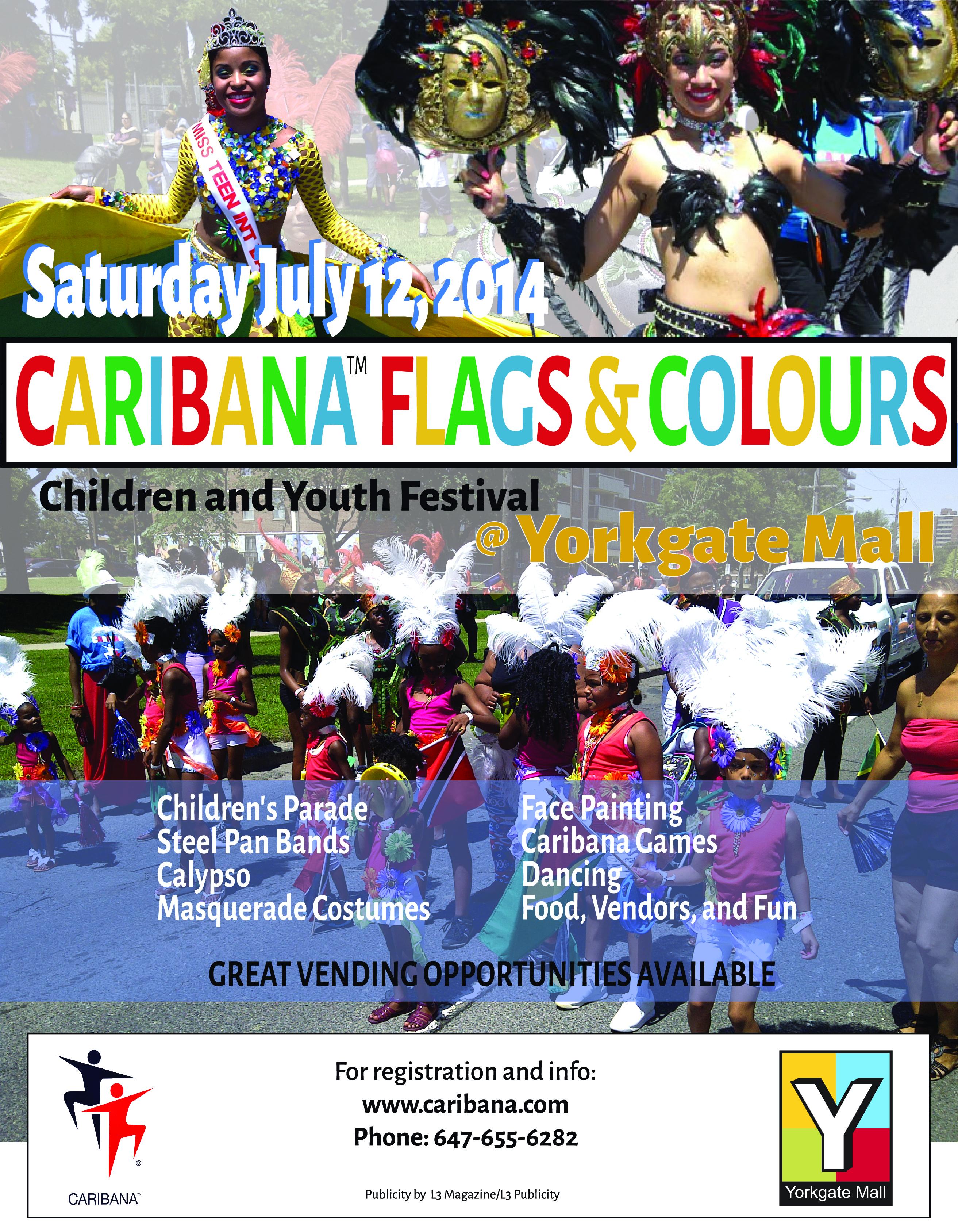 Caribana's Flags and Colours Parade celebrates 15 year aniversary