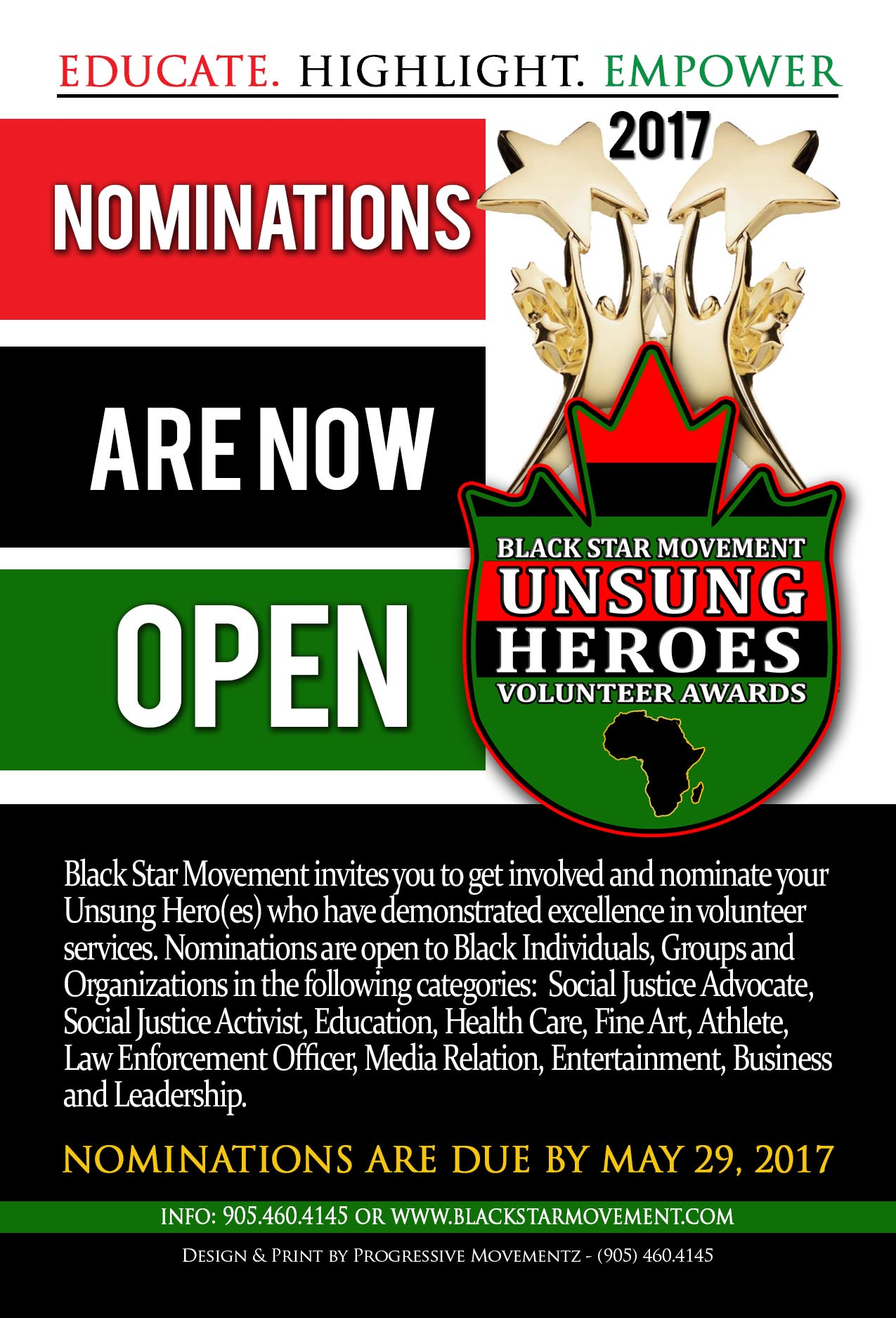 Black Star Unsung Heroes Nomination