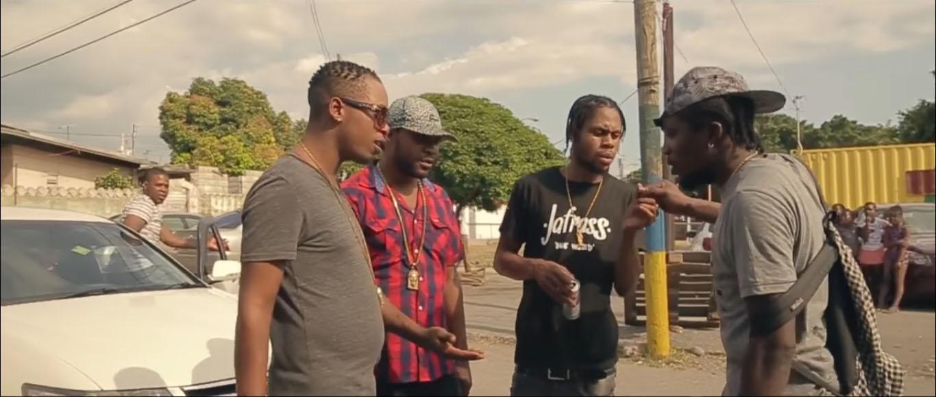 Jafrass - New Ting Fi Badmind music video