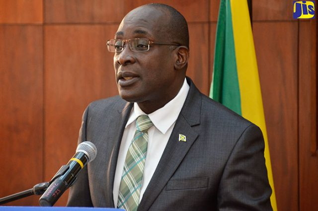 Minister of Education, Youth and Information, Senator the Hon. Ruel Reid
