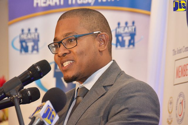 Minister of State in the Ministry of Education, Youth and Information, Hon. Floyd Green.