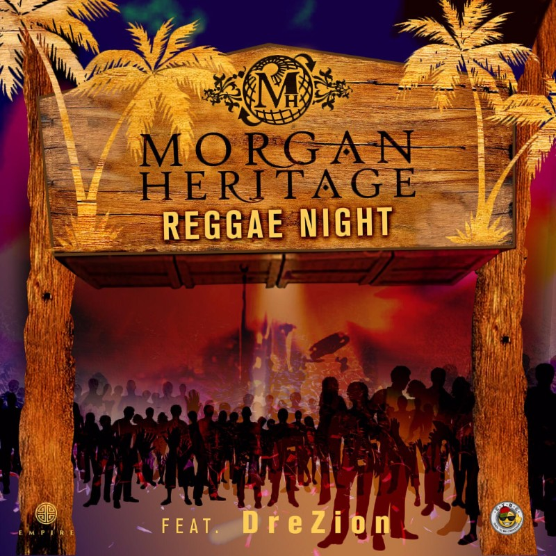 Album cover for the song 'Reggae Night' by Morgan Heritage