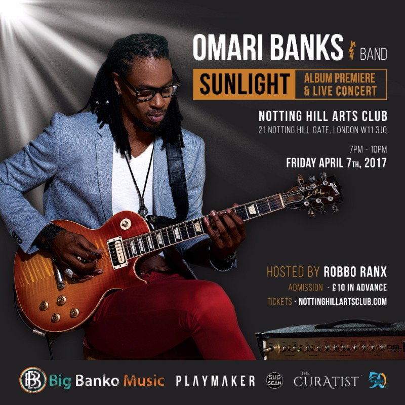 Omari Banks Sunlight Album cover