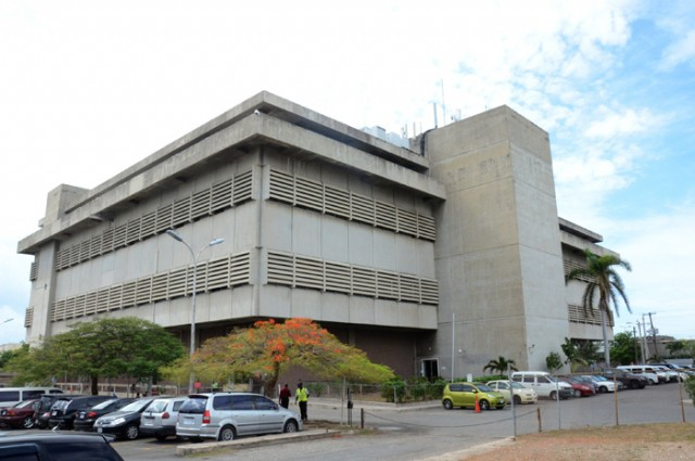 The Post and Telecommunications Department's Central Sorting Office