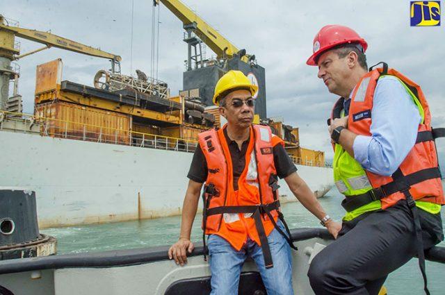 Work Progressing on Dredging of Kingston Harbour