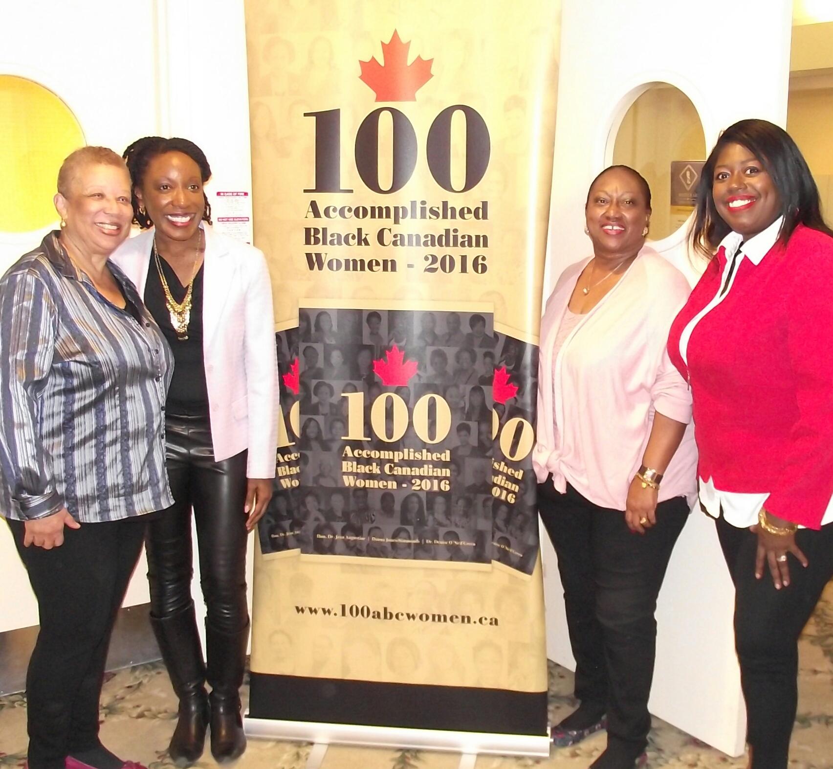 100 accomplished black canadian women