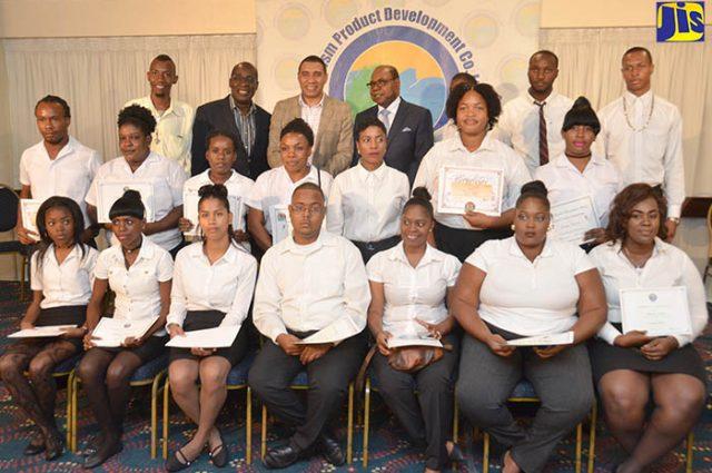 21 Gradutes of TPDCo Culinary Skills Training Program