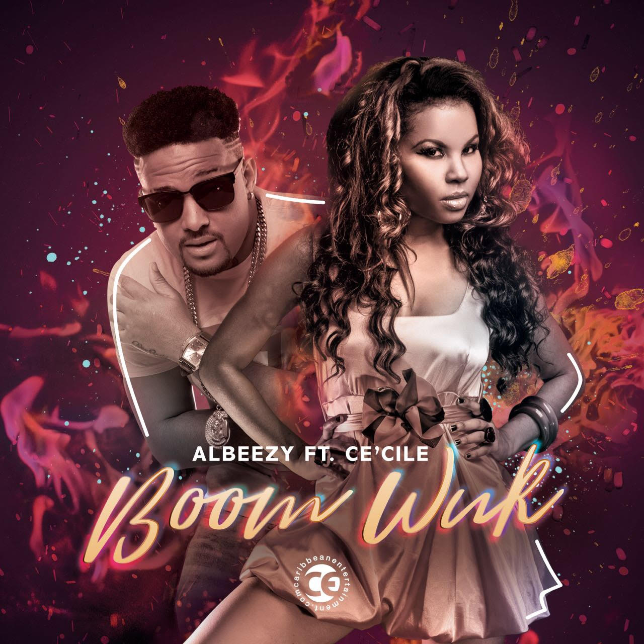 Picture cover for the music video AlBeezy Ft. Cecile - Boom Wuk