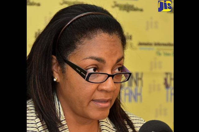Director of the National Insurance Scheme (NIS), Portia Magnus.