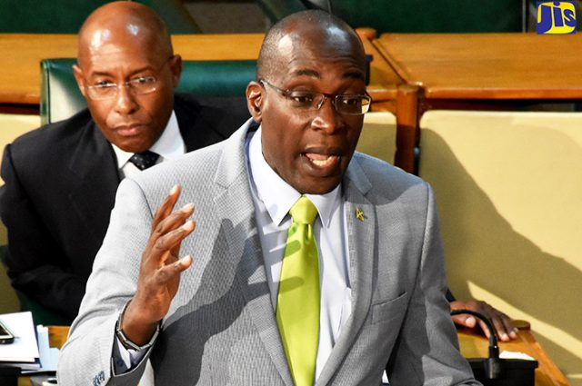 Education, Youth and Information Minister, Senator Ruel Reid discusses tertiary institutions