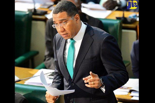 MOCA bill being discussed by Prime Minister Andrew Holness