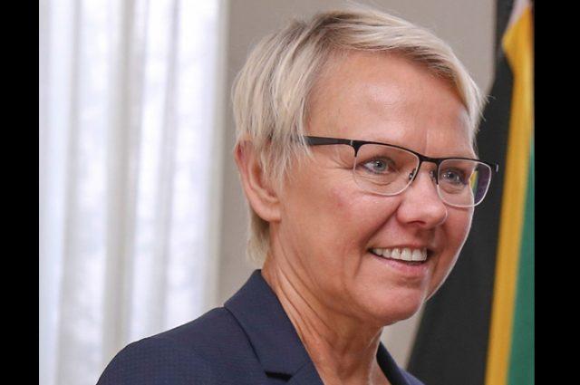 Headshot of Malgorzata Wasilewska, Head of Delegation, EU Jamaica.