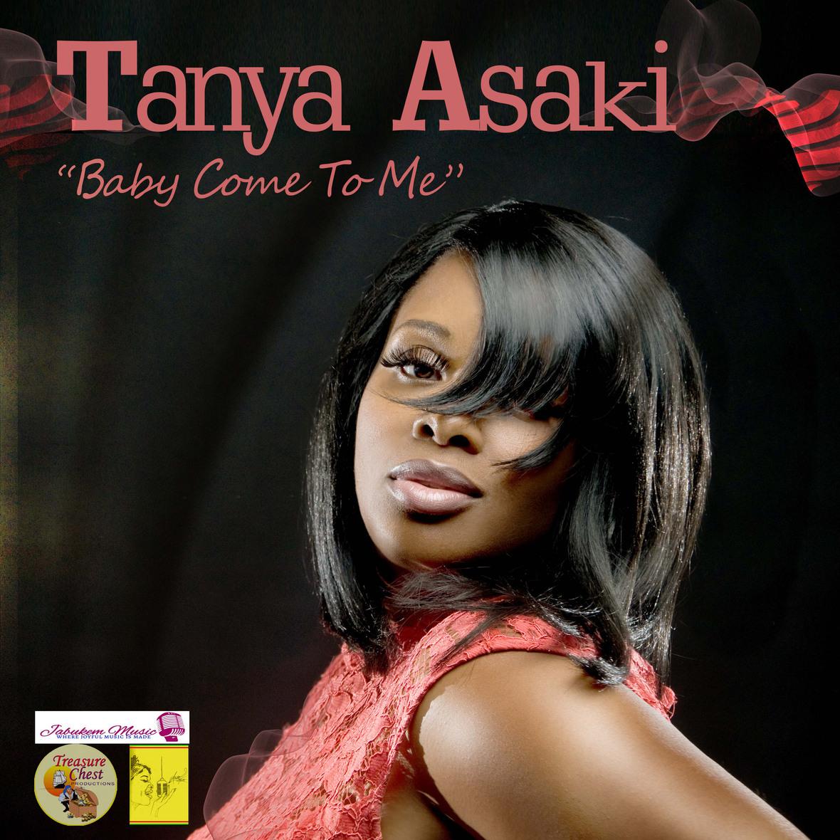 Head shot of music artist Tanya Asaki