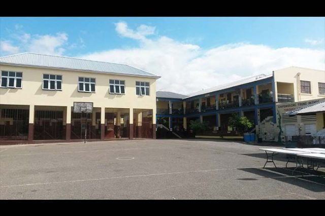 The 123-year-old St. Joseph's Infant School, located in downtown Kingston.