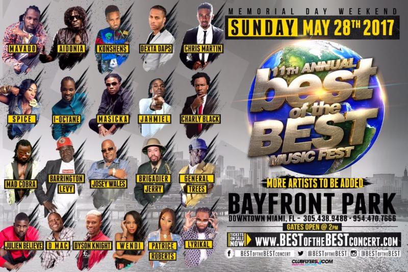 Poster for Best of the Best Concert