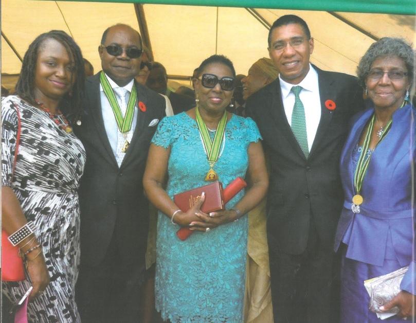 Raplaelita Walker family at her memorial