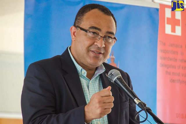 Christopher Tufton, emphasises the importance of screening at ports of entry