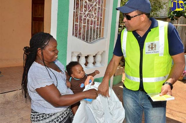 Health Ministry's Operation Mosquito Search and Destroy public education initiative