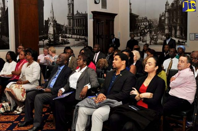 audience at an Economic Growth Council Forum