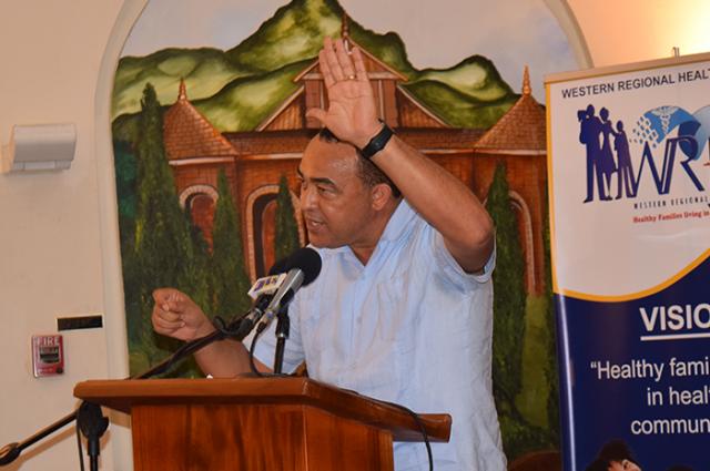 Minister of Health, Hon. Dr. Christopher Tufton hails adventist church