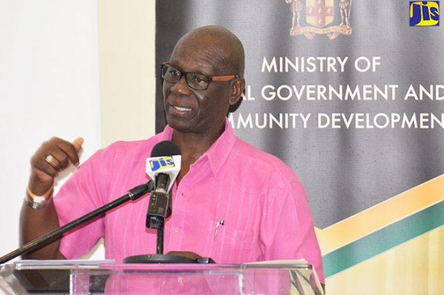Minister of Local Government and Community Development, Hon. Desmond McKenzie
