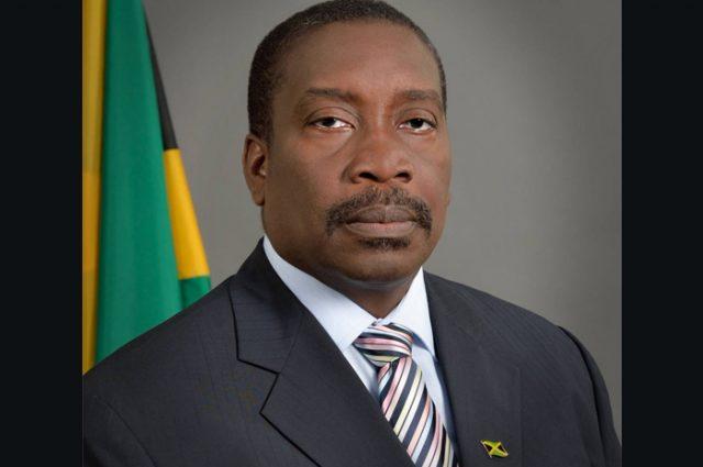 Minister of National Security Robert Montague
