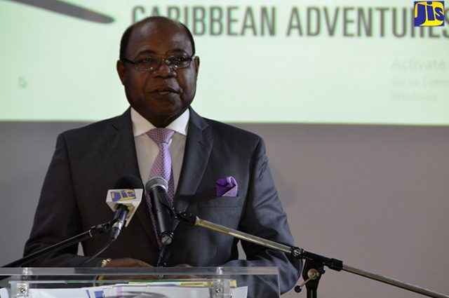 Minister of Tourism, Edmund Bartlett, who is on tourism business overseas discusses upcoming visitors
