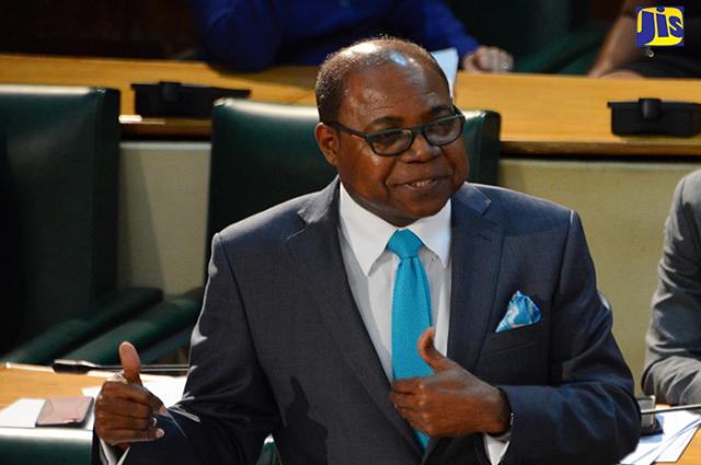 Minister of Tourism, Hon. Edmund Bartlett on shovel-ready projects