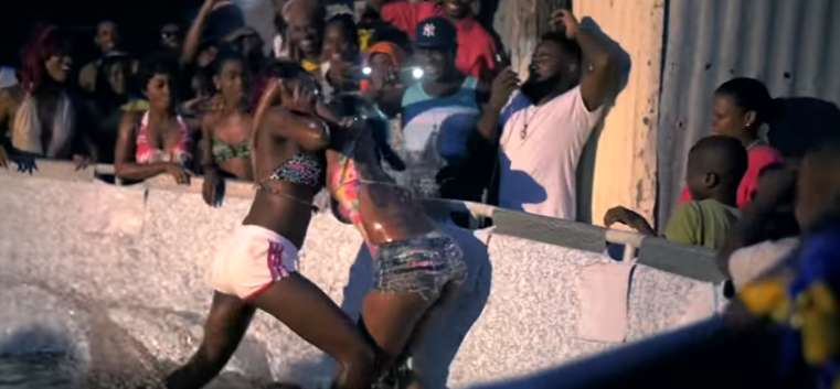 Clip from the music video Moshan - Bad Gyal