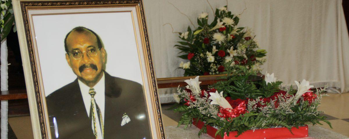 Thanksgiving Service for the life of Nevile St. Hugh Johnson