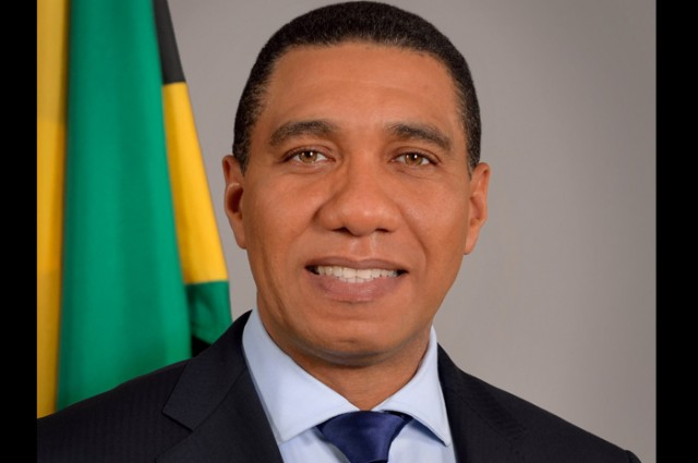 PM Andrew Holness discussing fiscal space