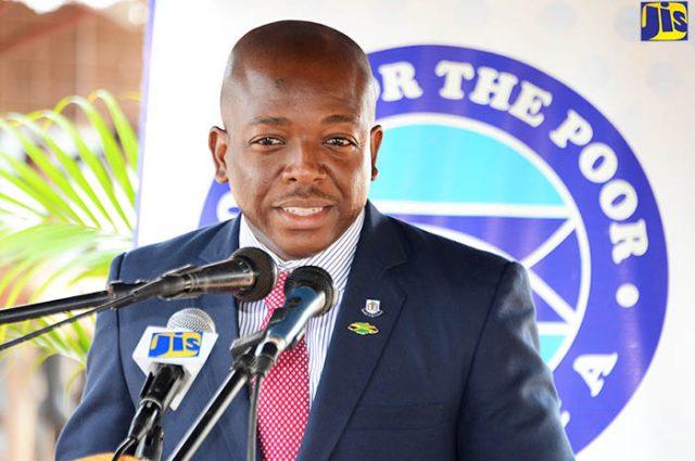 Senator Pearnel Charles, Jr. discussing eradicating corruption