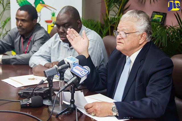 Carl Samuda gives an update on the import and sale of Brazilian corned beef