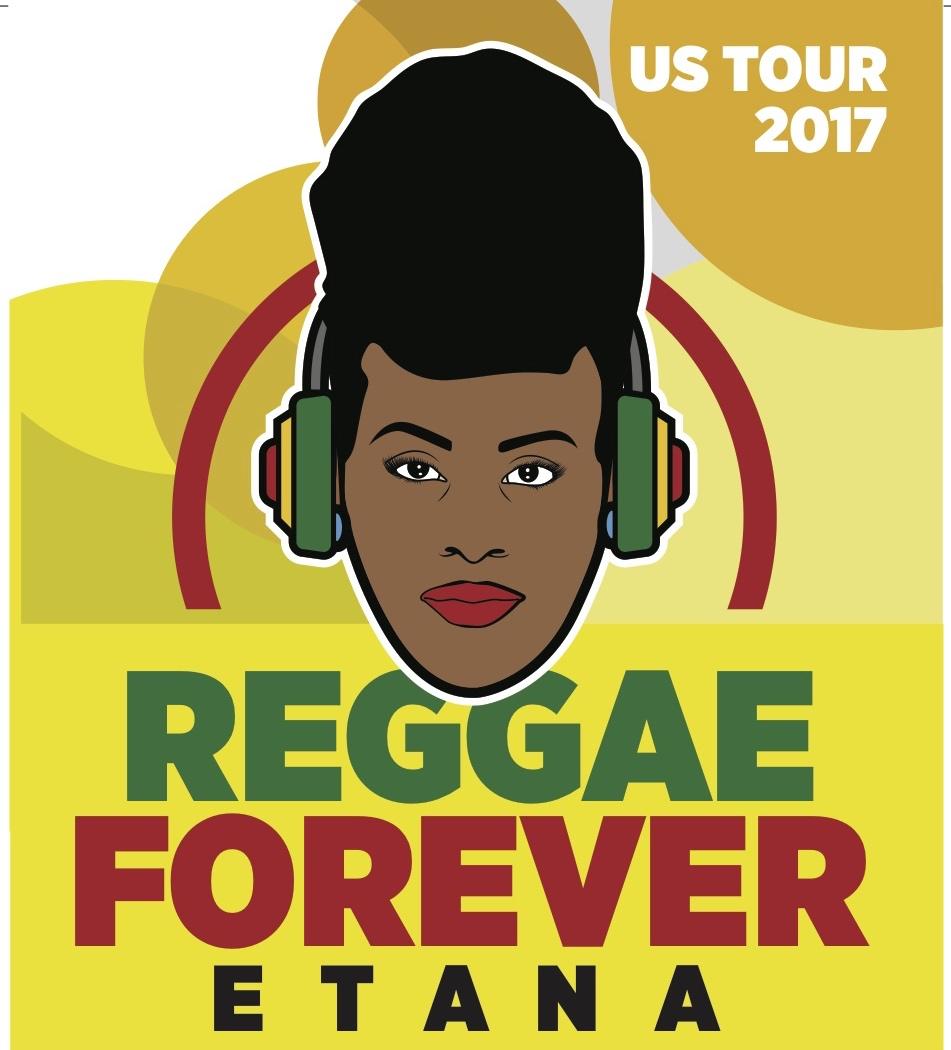Reggae forever poster for artist Etana