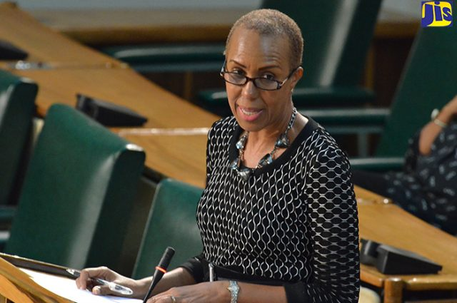 Fayval Williams Jamaican Cabinet