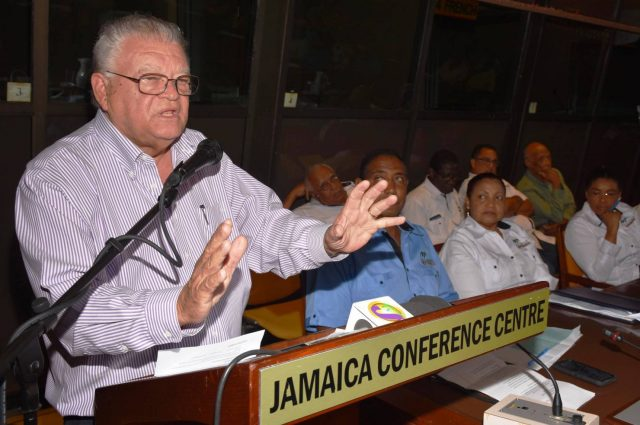 Karl Samuda addresses commodity boards