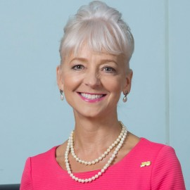 Kelly Tomblin discussing power outages