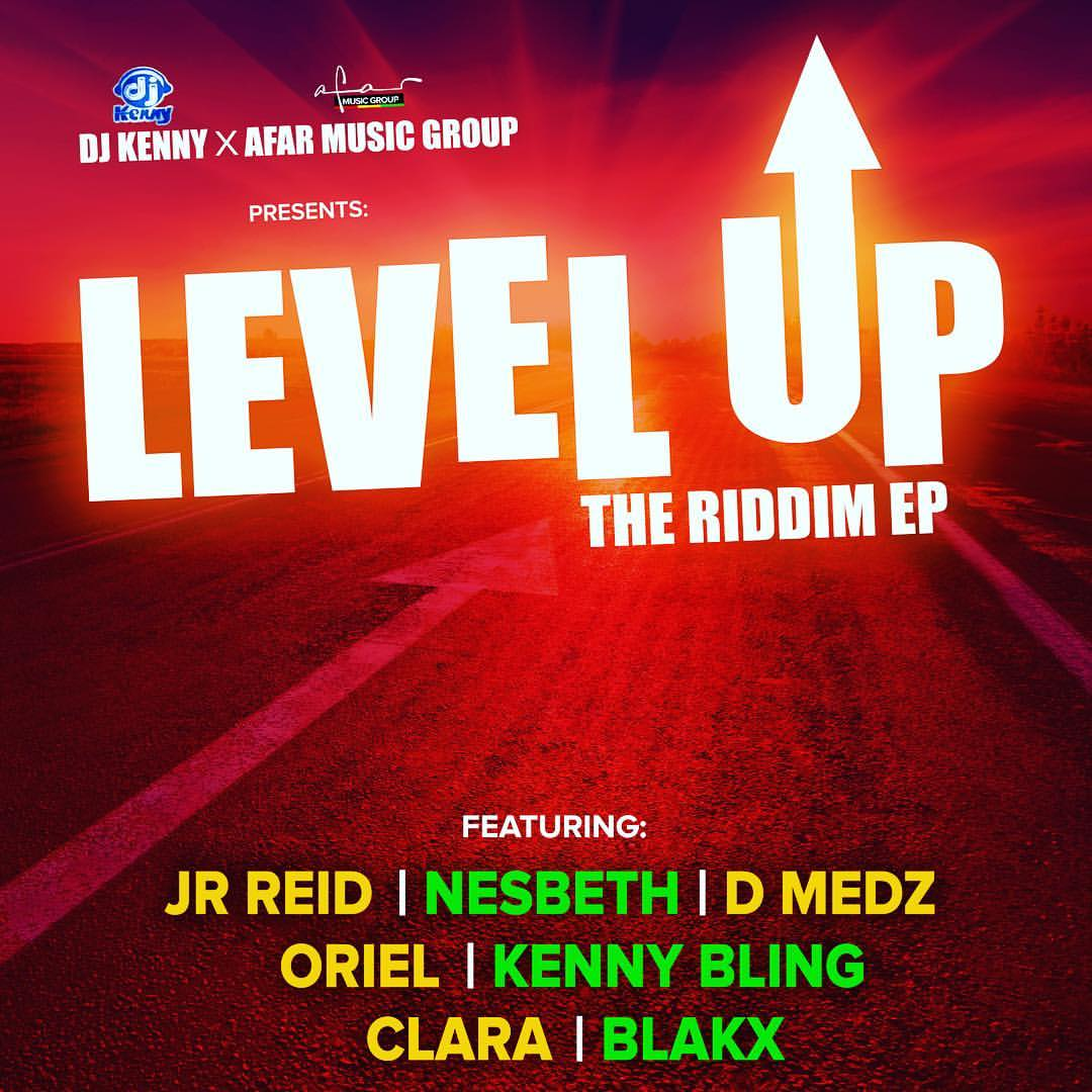 Poster for the music album LevelUp