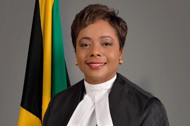 Marlene Malahoo Forte addresses CARICOM