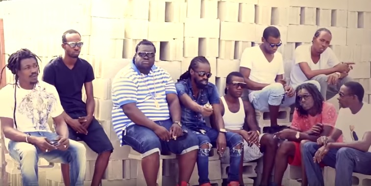 Clip from the music video Ryme Minista - Hot Up Di Place (Summer)