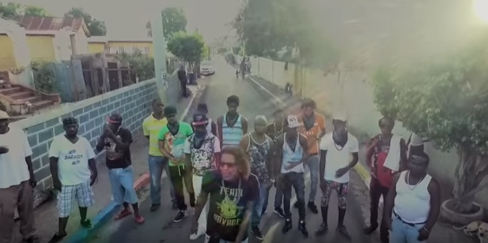 Clip from the music video Savage - Chinese League