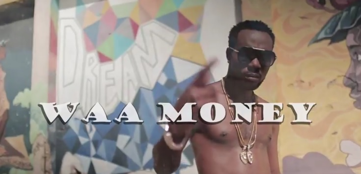 Clip from the music video Snypa Kyng - Waa Money