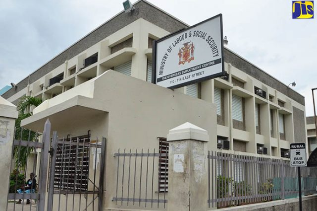 The Ministry of Labour & Social Security for jamaicans