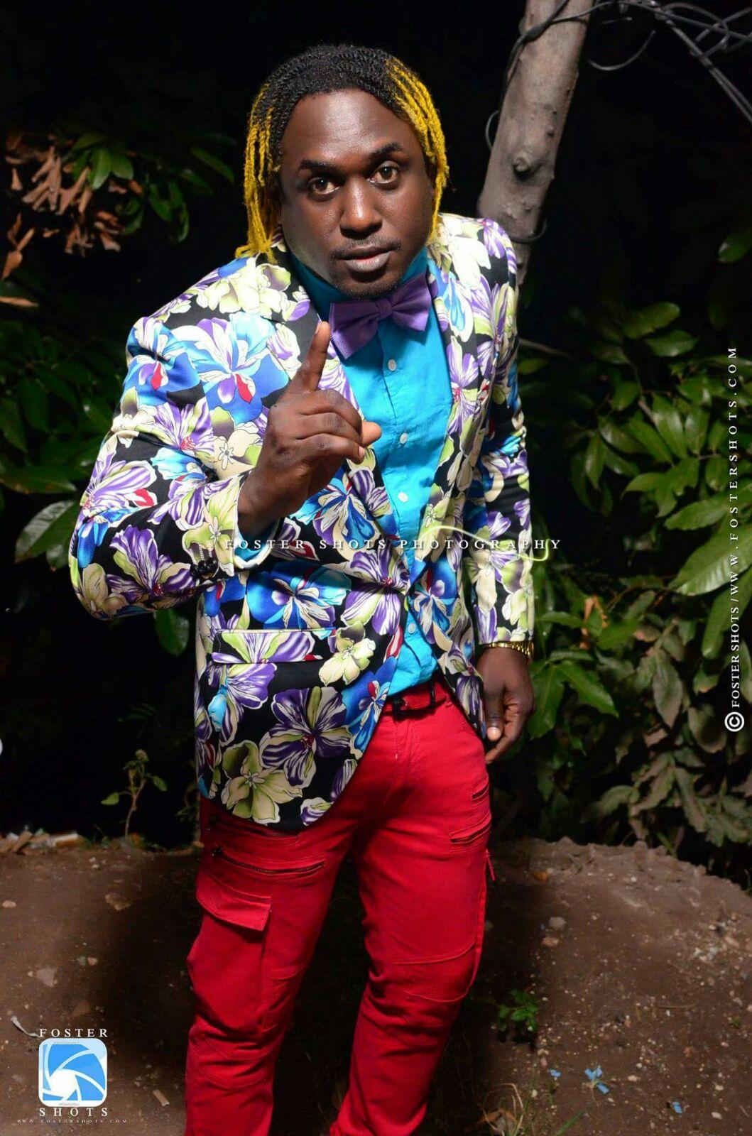 Dancehall artist WASP