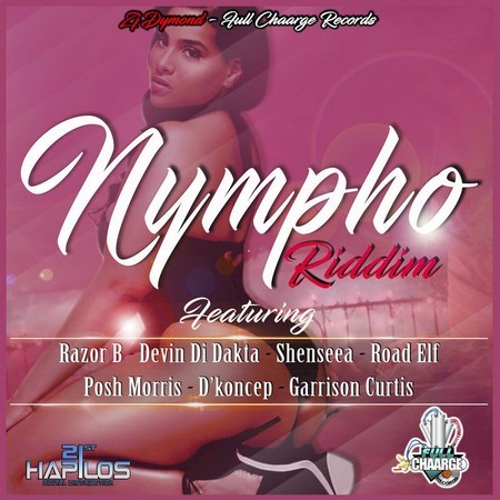 the cover for nympho riddim cover