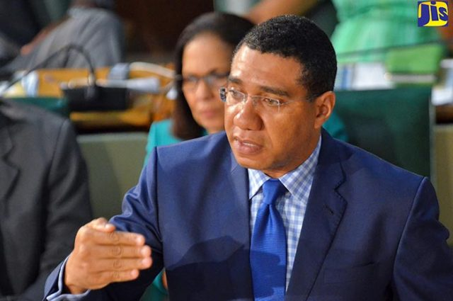 Andrew Holness emphasises universal numeracy