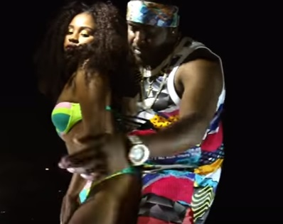 Clip from the music video BizzyDaBachelor - Mek Mi Feel