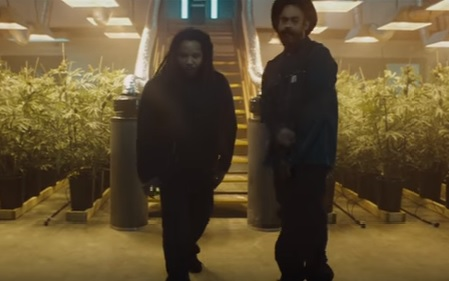 "Clip from the music video Damian ""Jr.Gong"" Marley - Medication ft. Stephen Marley"