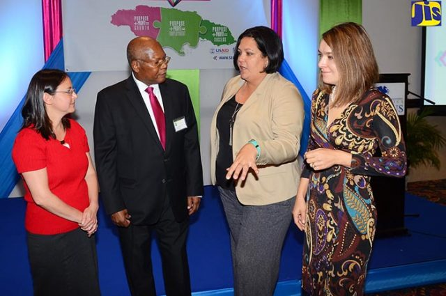 Ministry of industry discussing social enterprises with Vision Newspaper Caribbean news