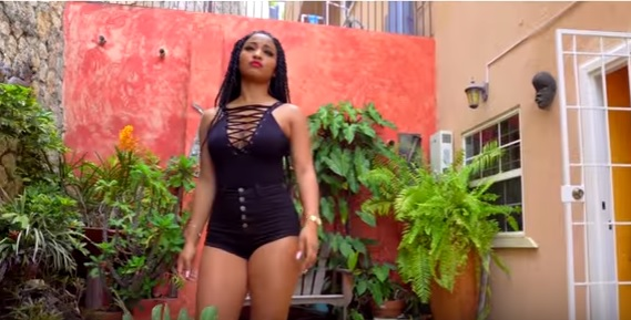 Clip from the music video Shenseea, Jahmiel - Tell Me